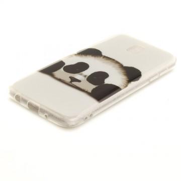 Husa silicon design matrita Samsung J3 (2017) - panda