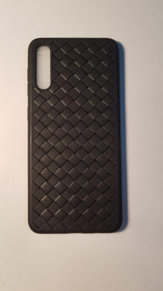 Husa Woven Grid Samsung A50 / A50s / A30s, Black