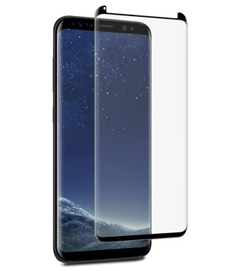 Sticla Securizata 5d Curbata Full Adeziv [Premium] Samsung Note 8, Black