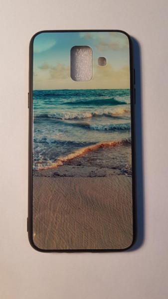 Husa Glass Case Samsung A6
