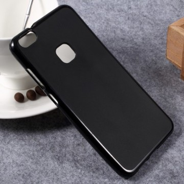 Husa silicon lucios Huawei P10 negru