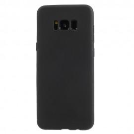 Husa silicon slim mat Samsung S8+ negru