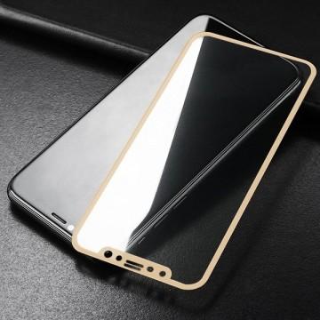 Folie sticla 3D Huawei P20 lite - Gold