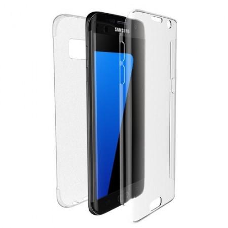 Husa 360 din policarbonat si silicon pentru Samsung J4 Plus 2018