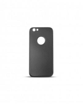 Husa 360 grade carbon, silicon - pentru iPhone 6/6s - Negru