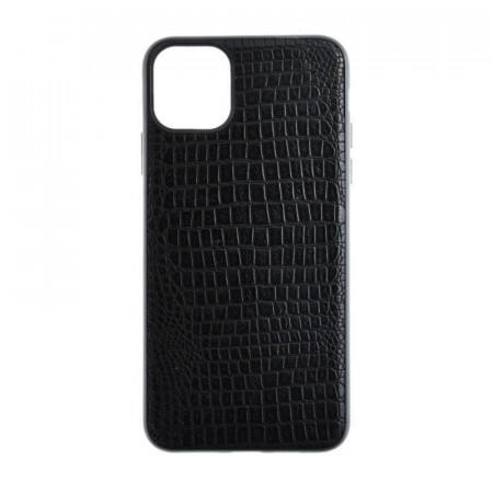 Husa Silicon Crocodile - iPhone XR, Negru