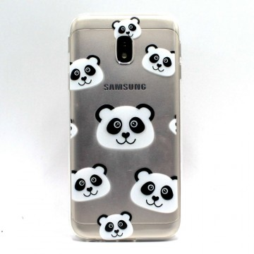 Husa silicon design printat Samsung J3 (2017) - panda