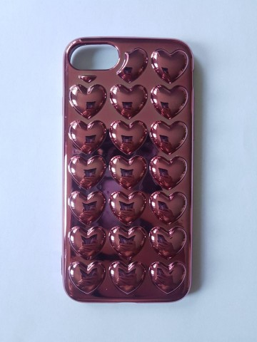 Husa silicon inimioare - iPhone 7