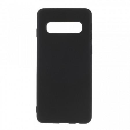 Husa silicon slim mat Samsung S10 negru