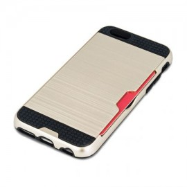 Husa defender card - gold - pentru iPhone 6/6s