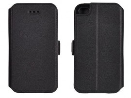 Husa flip cover Samsung J2 - Negru