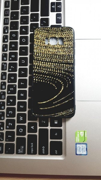 Poze Husa Glass Case Samsung S8 model 1