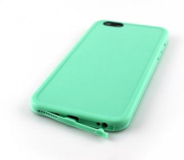 Husa silicon 360 Waterproof (inchidere etansa) iPhone 8 Plus - Negru