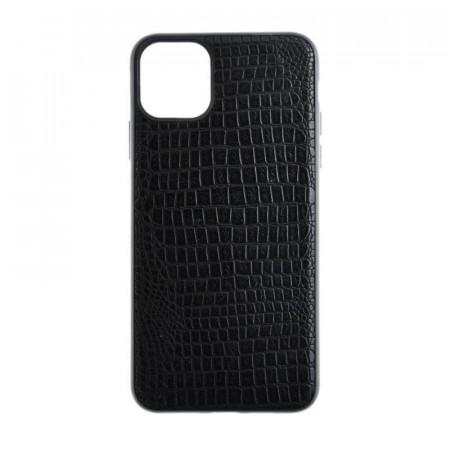 Husa Silicon Crocodile - iPhone X/XS, Negru