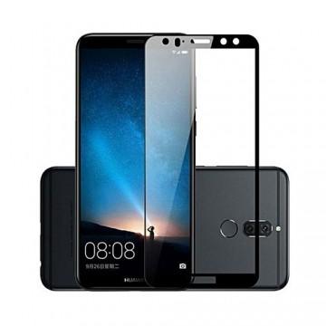 Folie sticla 3D Huawei Mate 10 lite - Negru