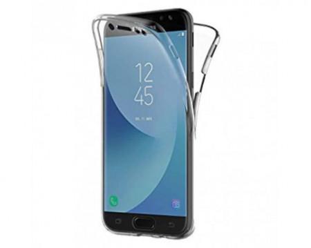 Husa 360 grade - Samsung J7 2016, transparenta