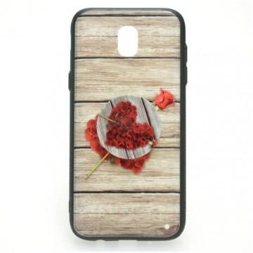 Poze Husa cu POP Holder pentru Samsung S9 - Trandafir