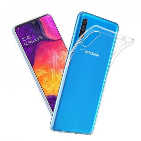 Husa silicon slim Samsung A50 - transparent