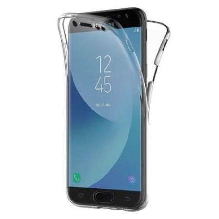 Husa 360 Grade Samsung Galaxy J6 Plus 2018, Transparent