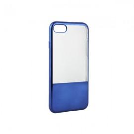 HUSA ELECTROPLATE HALF SILICON ULTRASLIM IPHONE 5 / 5S / SE - DARK BLUE