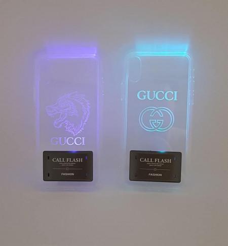 Husa GUCCI pentru iPhone X/XS cu 4 culori model 2
