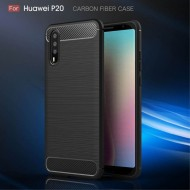 Carbon Black case for Huawei P20