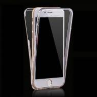 Husa 360 din policarbonat si silicon pentru iPhone X/XS