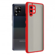 Techsuit - Chroma - Samsung Galaxy A42 5G - Bright Red