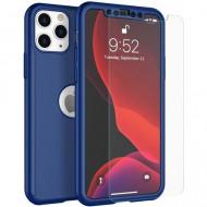 Husa 360 pentru iPhone 11 Pro Max - Bleumarin