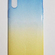 HUSA FORCELL OMBRE IPHONE X, BLUE-GOLD