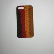 Husa Pop It! pentru iPhone 7 Plus/ 8 Plus, antisoc