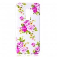 Husa silicon design Samsung S9 Plus - trandafiri