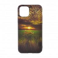 Husa Slim PC fosforescenta iPhone 11 Pro Max, Soare