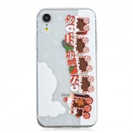 Husa Tech Christmas Printing Tpu Iphone X / XS, Christmas