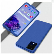 Husa 360 pentru Samsung A71 - Bleumarin