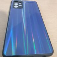 Husa Aurora Glass case for Samsung A72 4G / A72 5G dark blue