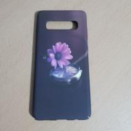 Husa Slim PC fosforescenta Samsung S10 Plus, Floare