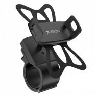 Yesido - Suport pentru biciclete (C42) cu grip elastic - negru