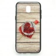 Husa cu POP Holder pentru iPhone 6 Plus/ 6S Plus - Trandafir
