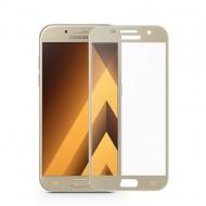 Folie sticla 5D Samsung A5 2017 - Gold