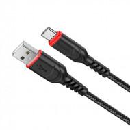 Cablu de date Hoco X59 Type-C 1m negru