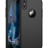 Husa 360 pentru iPhone Xs Max - Negru