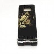 Husa silicon design matrita Samsung S8 - Leu