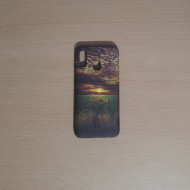 Husa Slim PC fosforescenta Samsung A40, Soare