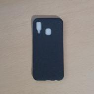 Husa TPU Flash Oil pentru Samsung A40, Negru