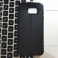 Husa TPU LitChi Samsung S7 Edge negru