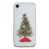 Husa Tech Christmas Printing Soft iPhone XR, Decorated Christmas