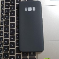 Husa silicon slim mat Samsung S8 negru