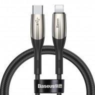 Cablu De Date Baseus 1M Type-C/Lightning QC3.0 - Black