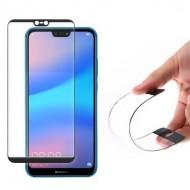Folie Curbata Flexibila Cu Margine Neagra Samsung Galaxy S9 Plus (G965), Black